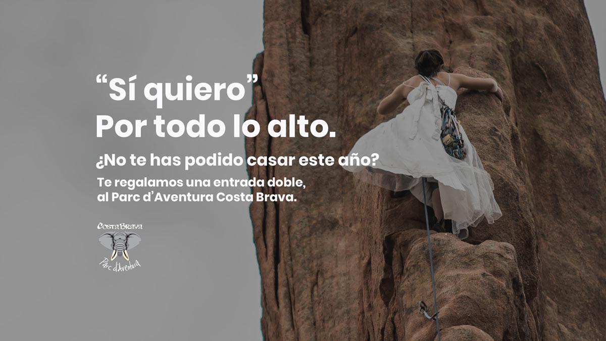 Promocion boda par aventura